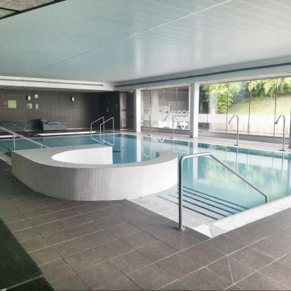 zona wellness del Poliesportiu Francesc Calvet